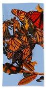 Monarch Migration Beach Towel