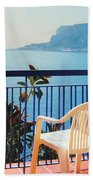 Mondello Bay Sicily Beach Towel