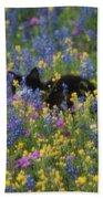 Monet's Cat Beach Towel