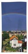 Monkstown, Co Dublin, Ireland Rainbow Beach Towel