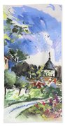 Monpazier In France 01 Beach Towel