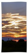 Montana Sunset Beach Towel