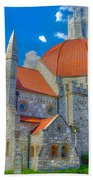 Montgomery Baptist Church Hdr Beach Towel