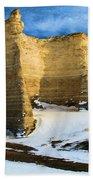 Monument Rocks Castle Beach Towel