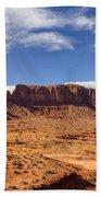 Monument Valley Arizona  Beach Towel