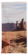 Monument Valley Totem Pole Beach Towel