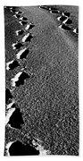 Moon Walk Beach Towel by Empty Wall