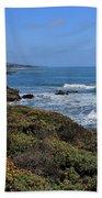 Moonstone Beach Beach Towel by Heidi Smith