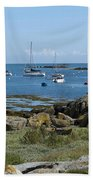 Moorings Iles Chausey Beach Towel