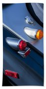 Morgan Plus 8 Tail Lights Beach Towel