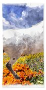 Morisco In Spring Flowers Beach Towel