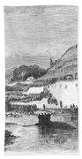 Mormon Baptismal, 1873 Beach Towel