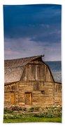 Mormon Row Barn 2 Beach Towel
