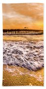 Morning Gold Rush Beach Towel