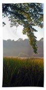 Morning On The River Beach Towel