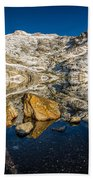Morning Sun On Angel Lake Beach Towel