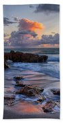 Mornings Reflections Beach Towel