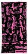Morph Eruption 2 Beach Towel