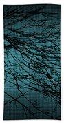 Mosaic Branch Beach Towel