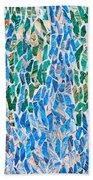 Mosaic Pattern Beach Towel
