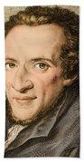 Moses Mendelssohn, German Philosopher Beach Towel