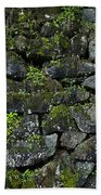 Moss And Stone Beach Towel