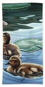 Mother's Watchful Eye Beach Towel
