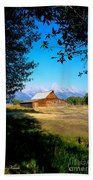 Moulton Barn Beach Towel