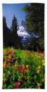 Mount Assiniboine Beach Towel