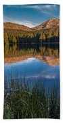 Mount Lassen Reflecting 2 Beach Towel