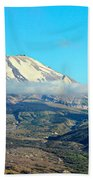 Mount St Helens And Castle Lake Beach Sheet