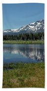 Mount Tallac View Of The Cross Beach Towel