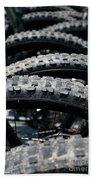 Mountain Bike Tires Beach Towel