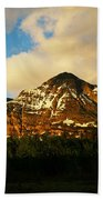 Mountain In The Morning Beach Towel