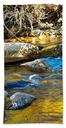 Mountain Stream Beach Towel