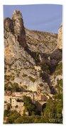 Moustier-sainte-marie Beach Towel