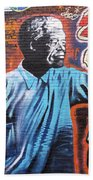 Mr. Nelson Mandela Beach Towel