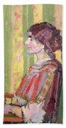 Mrs Robert Bevan Beach Towel