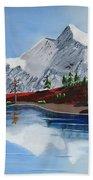 Mt Challenger Beach Towel