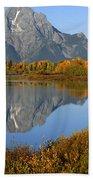 Mt. Moran Reflection Beach Towel