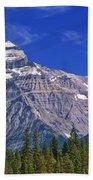 Mt. Robson, British Columbia Beach Towel