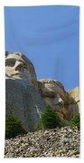 Mt Rushmore Beach Towel