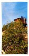 Mt Scott Fire Tower Beach Towel