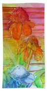 Multicolor Gingers Beach Towel