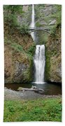 Multnomah Falls - Wide View Beach Towel