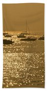 Mumbai In The Morning In December Beach Towel