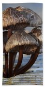 Mushroom Cluster Beach Towel