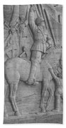 Mussolini, Haut-relief Beach Towel by Photo Researchers