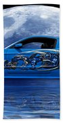 Mustang Reflection Beach Towel