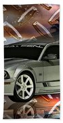 Mustang Saleen  Beach Towel